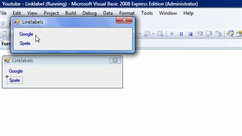 tutorial visual basic 2008 visual basic 2008 linklabel tutorial youtube