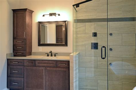 master bath vanity and shower vision pointe homes