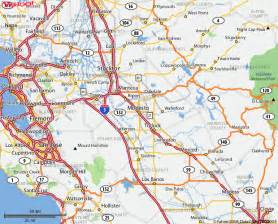 modesto california map image gallery modesto california