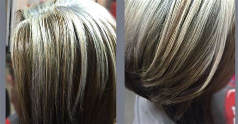 light frosted gray hair light brown with platinum blonde hair by me pinterest