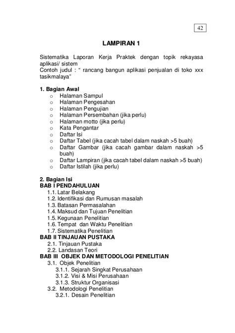 format skripsi a5 buku panduan kp stmik tasikmalaya 2014 a5