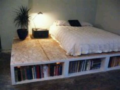 how to make your bedroom awesome pallet bedframe for a nice book shelf favorite places spaces pinterest girls boys
