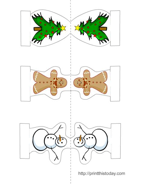 christmas craft printable templates search results