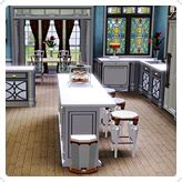 Kitchen Set 164 edwardian store the sims 3