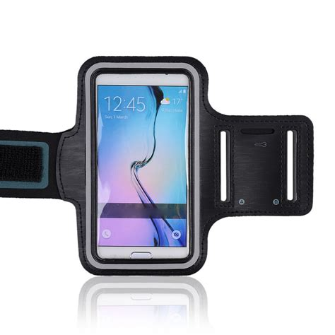 Galaxy X Armband Sportycase For Samsung Galaxy S5 Blue armband sport running exercise key for samsung galaxy note 5 4 3 s7 s8 ebay