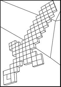 minecraft tnt coloring pages sword mine craft coloring page minecraft