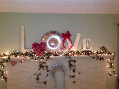Valentines Decoration Ideas Valentines Day Mantle Decoration Holiday Ideas
