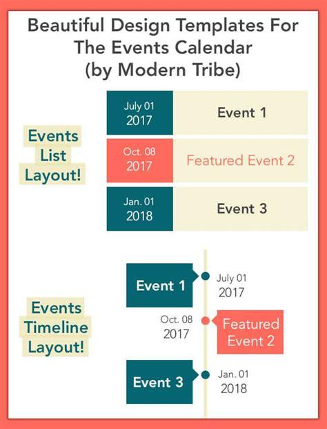 calendar templates shortcode wordpress
