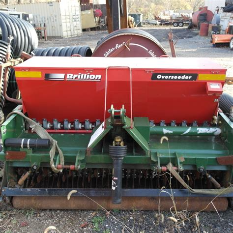 brillion bos61 6 foot overseeder pto powered