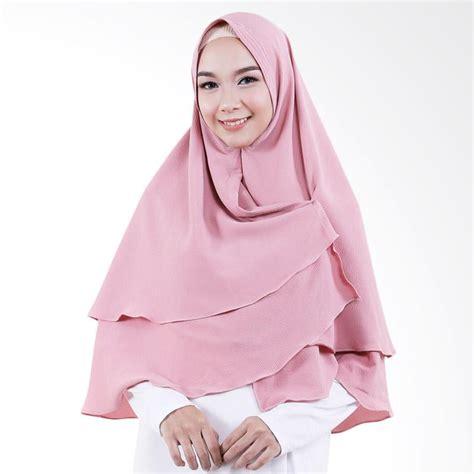 Khimar Jilbab Instant Brenda 0 jual cotton bee khimar almira jilbab instant dusty pink harga kualitas terjamin