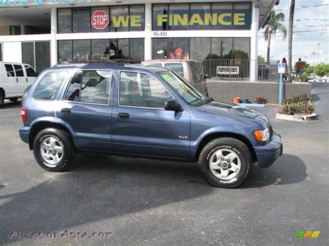 2001 Kia Sportage Fuel 2001 Kia Sportage Ex 4x4 In Slate Blue 035166 Autos Of