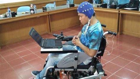 Kursi Roda Pekanbaru kursi roda ini bisa digerakkan dengan pikiran begini cara kerjanya tribunnews