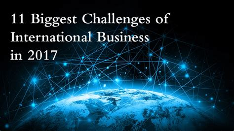 international business the challenge of global competition