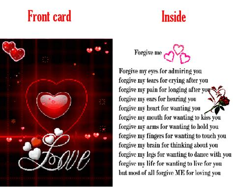M S Gift Card - second life marketplace m s gift card forgive me for loving you
