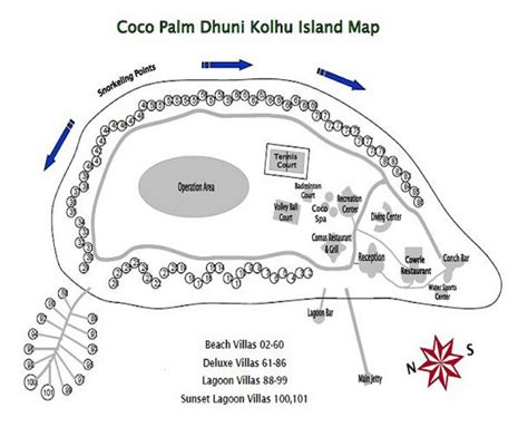 coco island resort map coco palm dhuni kolhu the maldives experts for all