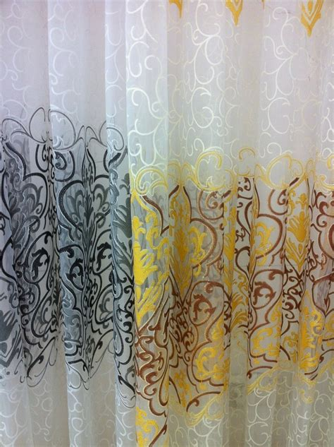 blackout curtain fabric cs 123 new arrival floral curtain fabrics sheer window