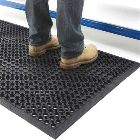 Big Door Mats by Large Door Mat Outdoor Indoor Entrance Rubber Anti Fatigue 0 9 X 1 5m Heavy Duty Ebay