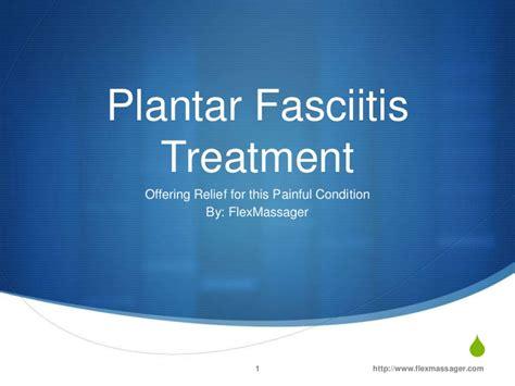 plantar fasciitis treatment powerpoint