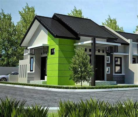 desain warna cat atap rumah gambar desain rumah tak depan sing atas rumah
