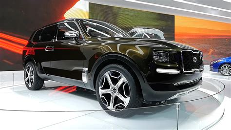 Kia Telluride For Sale by 2020 Kia Telluride Revealed In Custom Road Form