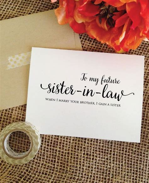 Best 25  Sister in law ideas on Pinterest   Sister in law