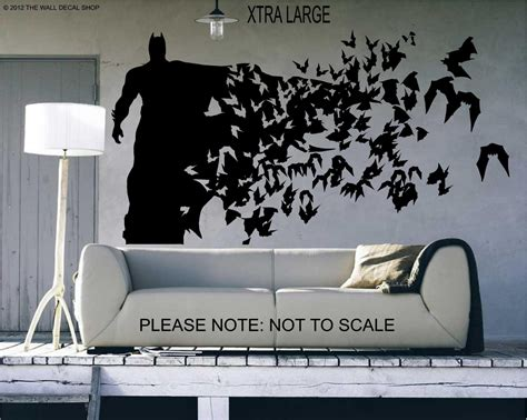 batman home decor batman xtra large size wall decal wall art sticker