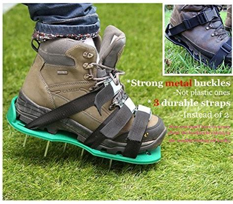 lawn aerator shoes ohuhu lawn aerator shoes spikes aerator sandals with