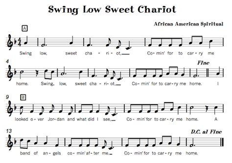 swing low sweet chariot lyrics 14 swing low sweet chariot