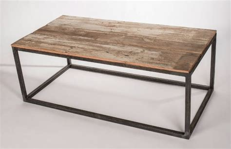 metal frame wood top table industrial coffee tables