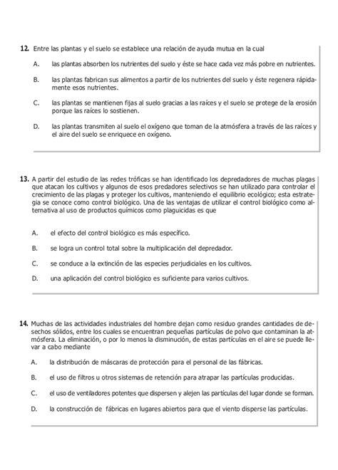 preguntas abiertas icfes ejemplos icfes ejemplo de preguntas medio ambiente 2010