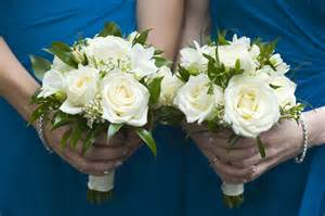 Nice Reddit Wedding Planning #1: Newcastle-wedding-flowers-blue-dresses-white-roses-bouquets-cosmic-flower-shop.jpg