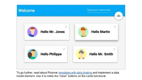 polymer tutorial github cloud endpoints polymer material design by martin g 246 rner