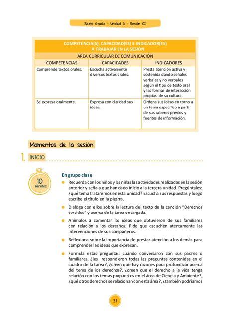 unidades 2016 sexto primaria unidad de poesia 6to grado documentos primaria sesiones