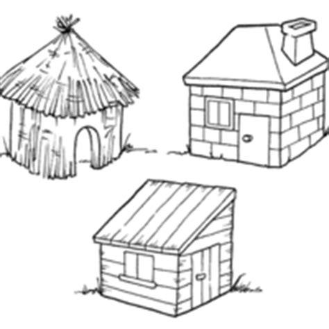 desenho de casas brick coloring pages
