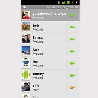 gtalk for android apk talk introduced with and voice chat for android mobiletor