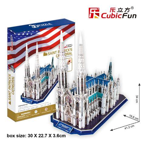 cubic 3d puzzle quot st s cathedral puzzles