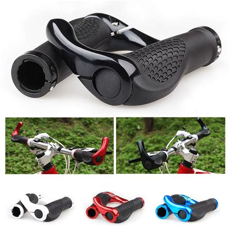 most comfortable handlebar grips ergonomic mountain bicycle bike cycling lock on handlebar