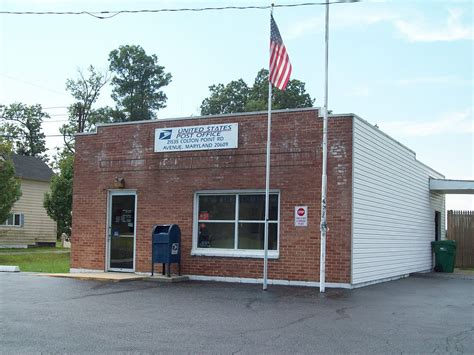 Maryland Post Office by Avenue Maryland
