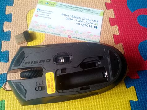 Mouse Tanpa Kabel Murah jual mouse wireless tanpa kabel gaming dismo baterai aa a2 anti gores murah