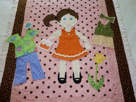 Paper Doll Quilt dress me doll quilt paper doll quilt