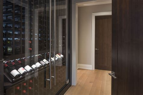 wine cabinet with doors wine cellars at glenview haus chicago il