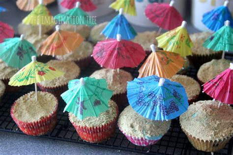 Tropical Themed Party Decorations - beach cupcake recipe the imagination tree