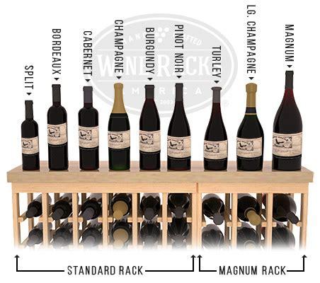 wine bottle dimensions wine racks america the wra advantage