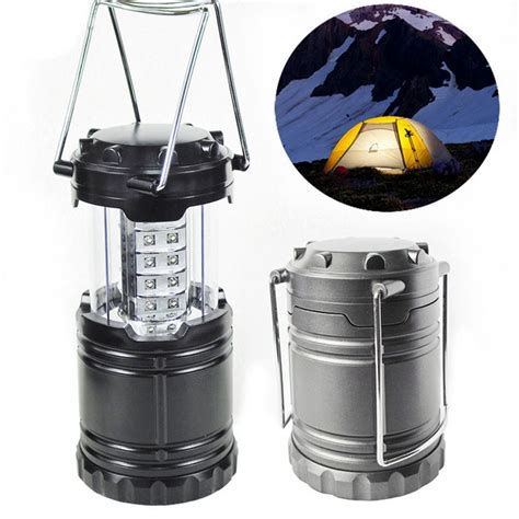 Portable Outdoor Lighting Sports 2016 Portable Cing Tent L 30 Led Lantern Operated Battery Stretchable Suitable For Hiking