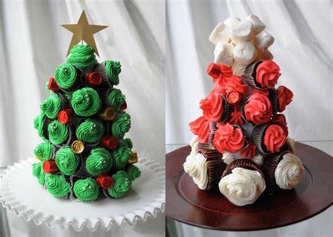 193 rbol de navidad de cupcakes recet 237 n