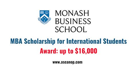How To Get Scholarship For Mba by International Excellence In Leadership Scholarship In
