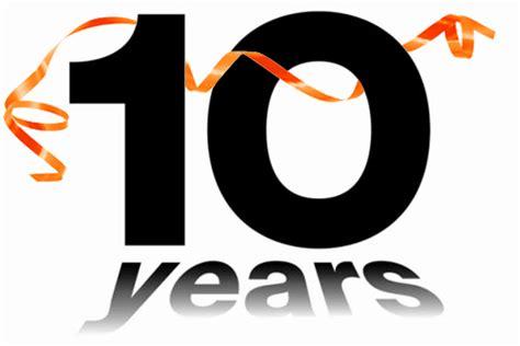 10 years in years telecom 10 year anniversary