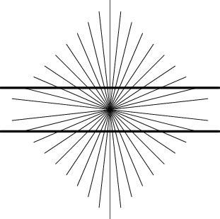Ilusiones Opticas Hering | la ilusi 243 n de hering ilusiones 211 pticas