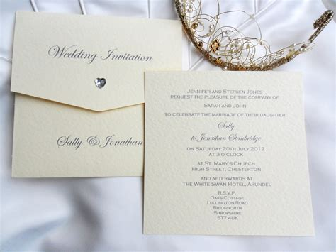 Uk Wedding Invitations by Wallet Wedding Invitations 163 2 Uk Printing Company