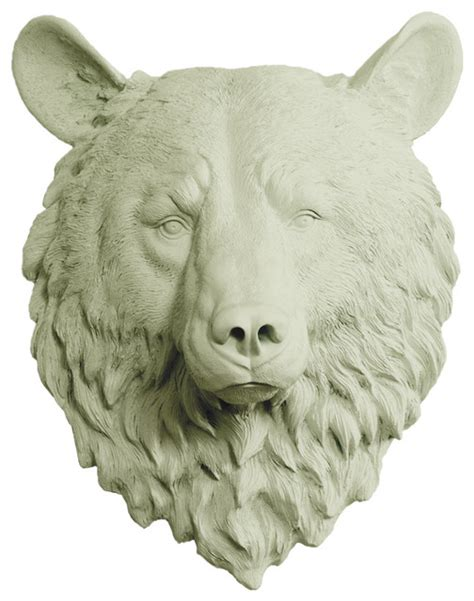 animal bust wall decor wall charmers in animal faux resin